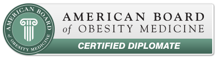 Dr. Muse is a certified diplomate from the American Board of Obesity Medicine.