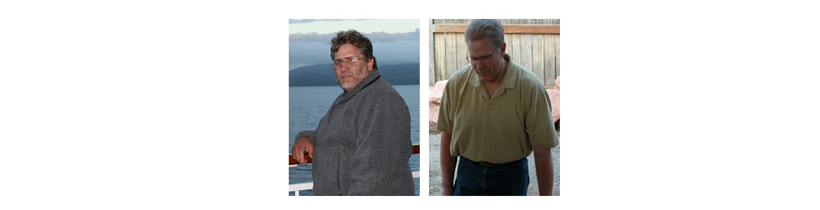 Robert achieved amazing results from a medical weight loss program.